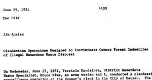 dnr surveillance cfi 1981