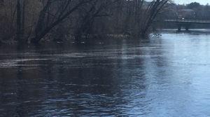 river at riverside park in wausau
