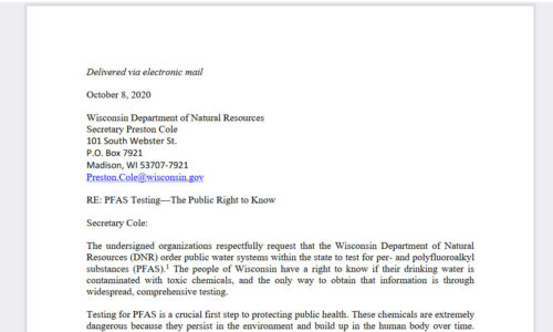 pfas letter