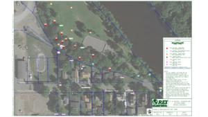 riverside park dioxin sampling locations