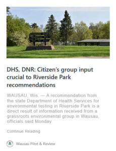 riverside park wausau pilot review