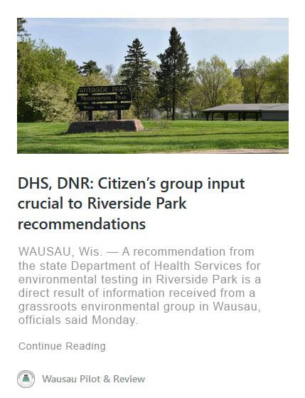 riverside park wausau pilot review