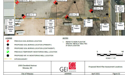 site investigation work plan 1300 cleveland avenue wausau