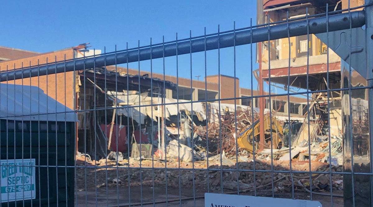 wausau center mall demolition